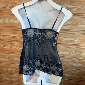 Victoria's Secret Intimates & Sleepwear - Victoria's Secret Black Lace Camisole SZ S